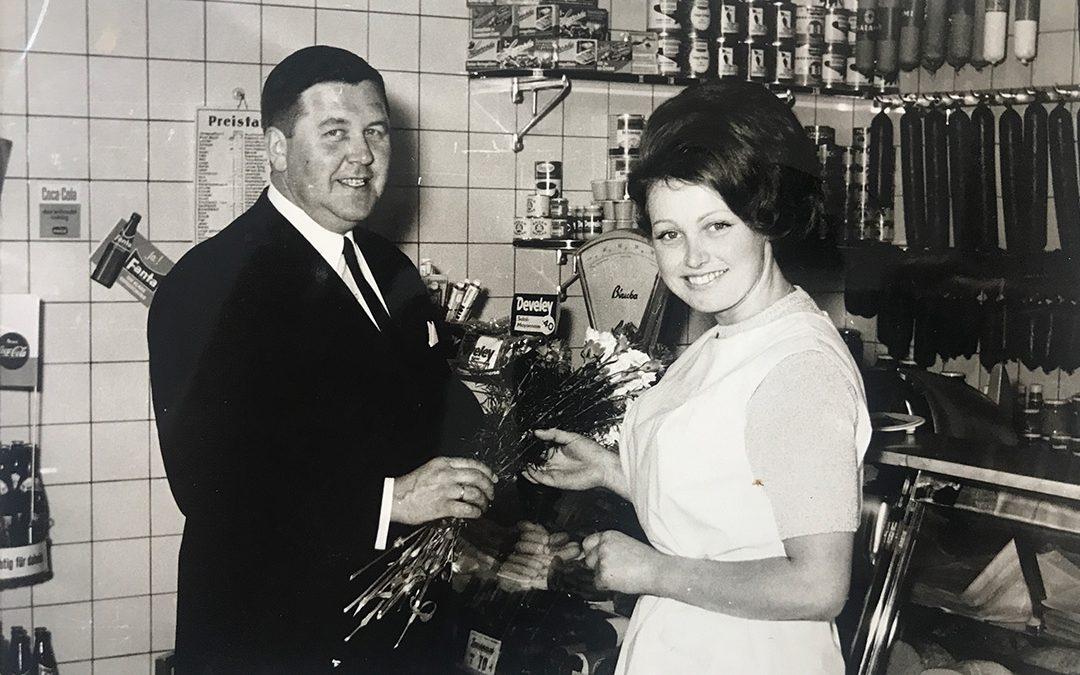Rückblick 1967: Hübscheste Fleischfachverkäuferin