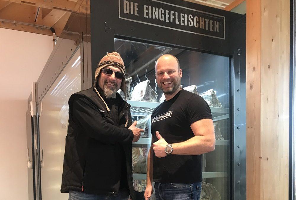 Grillweltmeister zu Besuch bei der Metzgerei Moser