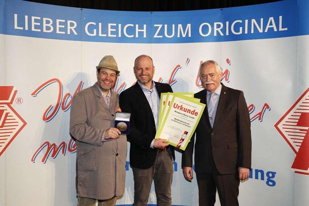 Bayerns Metzger ehren ihre Besten mit Studiotechniker Nullinger