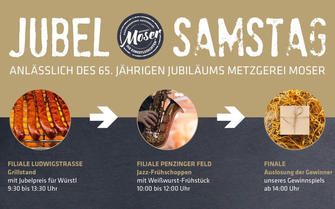 Jubel-Samstag: am 5. Oktober wird gefeiert!