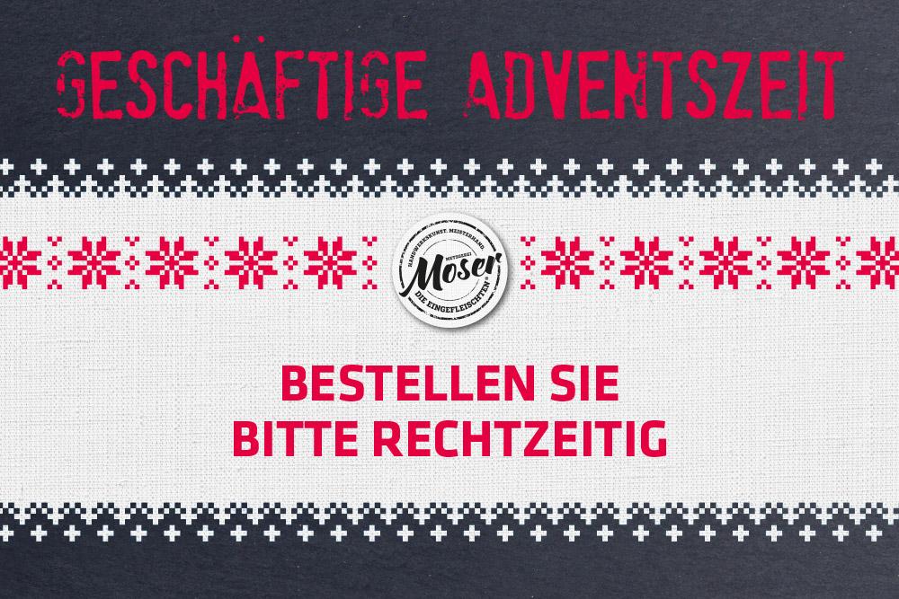 Wichtige Information: Ihre Weihnachtsbestellung!