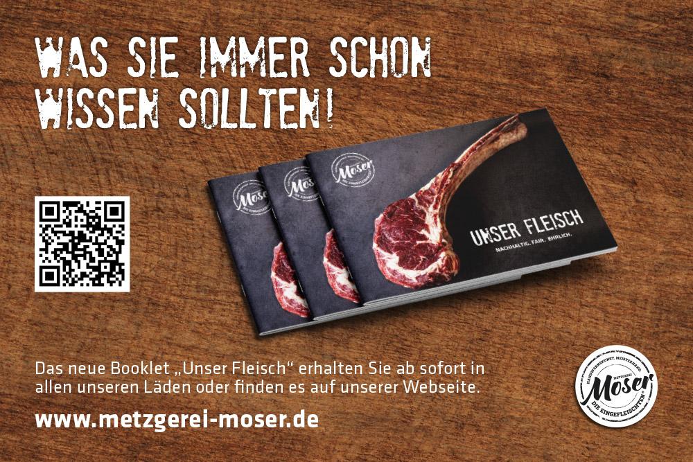 """Was Sie schon immer wissen sollten – unser neues Booklet """"Unser Fleisch"""""""